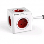 Allocacoc PowerCube Extended 1,5m 2300 Red