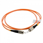 4world Patch Cord FC UPC-FC UPC ,SX MM,OM2,1m