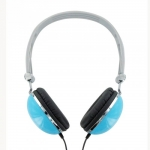 4world Stereo headhpones bail blue 06530