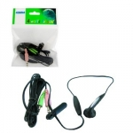 4world Headphones with microphone mini for Skype 03386
