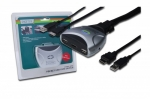 Digitus Mini KVM switch 2PC, HDMI, USB, audio, 1920x1200, 1080p, 1,2m