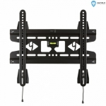 4world Wall Mount for LCD 25'' - 42'' SLIM BLK max.45kg double mount