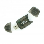 4world Pendrive card reader SD/miniSD/MMC/T-Flash 03355