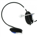 4world Occipital headphones with microphone with volume control 02993