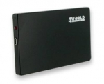 "4world Casing USB for HDD 2.5"" disc SATA black"