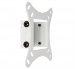 4world 4W Wall Mount for 15-22'' LCD load 20kg - white