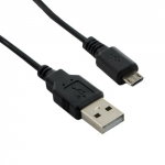 4world Cable USB 2.0 MICRO 5pin, AM / B MICRO transfer/charge 1.0m black