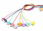 4world Cable USB 2.0 for Galaxy Tab transfer/charge 1.0m orange