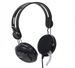 4world HEADPHONES BLACK LENGTH : 2,2 M