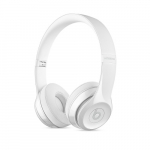 Apple Beats Solo3 Wireless On- Headphones - Gloss White