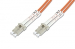 Digitus Fiber optic patch cord L C to LC MM 50/125 dpx 3