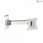 4world Mount for LCD 10-25'' VESA 75/100 tilt / swivel arm 23cm max25kg W