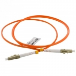 4world Patch Cord LC UPC-FC UPC ,SX MM,OM2,1m