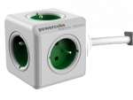 Allocacoc PowerCube Extended 1,5m 2300 Green