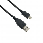 4world Cable Micro USB 0,8m BLACK