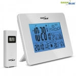 Greenblue Weather station DCF IN/OUT moon phase GB146W white