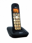 Maxcom MC6800 BLACK CORDLESS DECT GAP PHONE