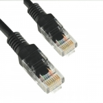 4world Patchcord Cat. 5e UTP 3m black