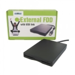 4world Mitsumi FDD Drive 3,5' external for USB - floppy 1.44