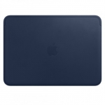 Apple MacBook 12 Leather Sleeve - Midnight Blue