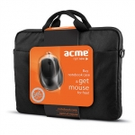 Acme europe 16M37 Notebook case+ MS13 optical mous