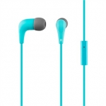 Acme europe Earphones with microphone HE15B blue