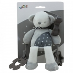 Axiom Rattle with clip New Baby - Teddy 20 cm