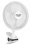 Adler Fan 15cm with clips and base AD 7317