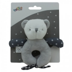 Axiom Rattle New Baby - Teddy 11 cm