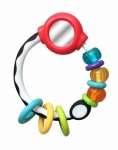 B-kids Disc rattle with mirror