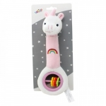 Axiom Rattle with sound Fairytale dreams pink 25 cm