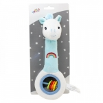 Axiom Rattle with sound Fairytale dreams mint 25 cm