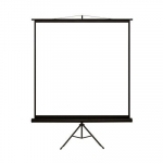 4world Projection screen on the static standard 152x152 1:1 white matte