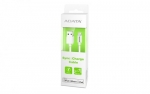 Adata Ceble USB 200 cm Apple MFI White plastic