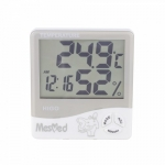 Mesmed Hygrometer MM-777 Higo with temperature and clock function