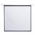 4world Electric wall ceiling projection screen with remote control 170x12