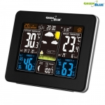 Greenblue Weather station DCF GB523 DCF color wireless moon phase