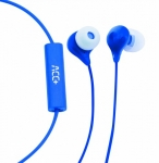 Acc+ Earphones Soul blue HF