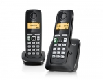 Gigaset PHONE DECT A220 DUO BLACK