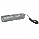 Camelion CT-4010 Aluminium Flashlight 1x 3 Watt LED (silver)/ 110-130 Lum