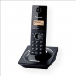 Panasonic KX-TG1711FXB Cordless phone, Black /  LCD / Memory 50 numbers /