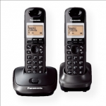 Panasonic KX-TG2512FXT Cordless phones, Black /  LCD display/ Memory 50 n