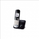 Panasonic KX-TG6811FXB Cordless phone, Silver Black