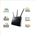 Asus RT-AC68U Dual-band Wireless-AC1900 Gigabit Router, External antenna