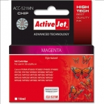 Activejet Action ActiveJet ACC-521MN (Canon CLI-521M)  Ink Cartridge, Magenta