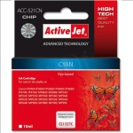 ActiveJet ACC-521CN (Canon CLI-521C)  Ink Cartridge, Cyan