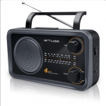 Muse M-05DS Black, 4-band portable radio