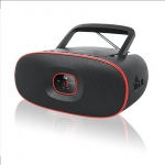 Muse MD-202RD Black/Red, Portable radio CD player,
