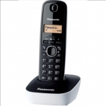 Panasonic Cordless KX-TG1611FXW Black/White, Caller ID, Phonebook capacit