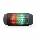 Gembird Bluetooth speaker with LED light effects Bluetooth, Portable, Bla